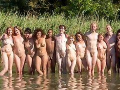 exotické pláž, kompilace sex film