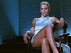 Sharon Stone a cruzar as pernas (Loop)