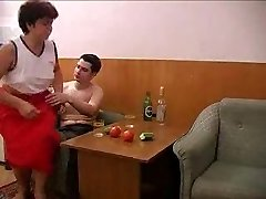 Mummy and BF takes several  drinks