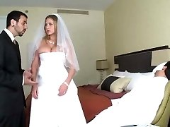 Alanah get pounded on her wedding night