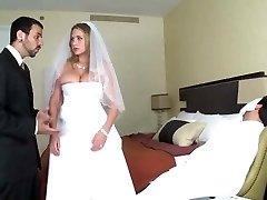 alanah se deja follar en su noche de bodas