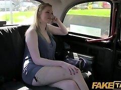 FakeTaxi - Dirty british cougar is happy