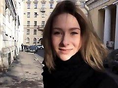 Falso casting con un verdadero adolescente ruso