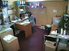 Private office (hidden cam)