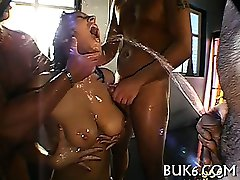 Slave gets pissing from corporalist