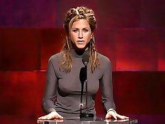 Jennifer Aniston With Hard Nipples