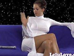 Lelu Aşk-Prenses Leialu Vibratör Mastürbasyon