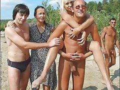 Tonåring Amatör Nudist