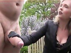 Cazzo enorme Ottiene uno strattone e Sperma