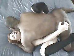 Büyük Siyah Horoz #10 Seksi Kızıl Saçlı Karısı Seviyor.elN