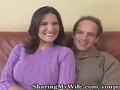 Sissy Hubby Has Hot Wife