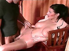 more hot shiny pantyhose sex  humping !!