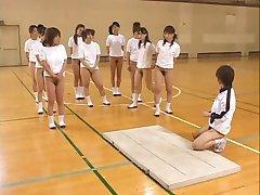 Aasia Teismelised Karvane Pussies Kuum Eesli Venitada Ajal Gym Class