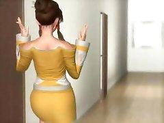 Hentai og 3D Min Mener Søster