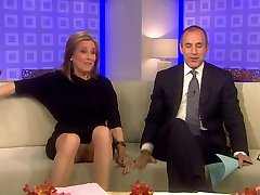 Meredith Vieira Upskirt Sulla TODAY Show