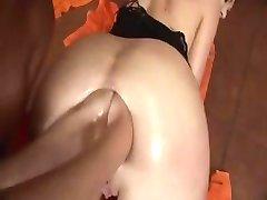 Lesbiche doppio anale pugno