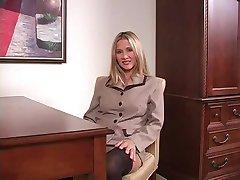 Secretary Seduces Boss for a Raise