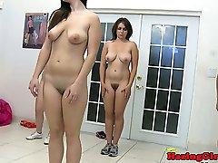 Lesbiche sorority ragazze sculacciate coeds