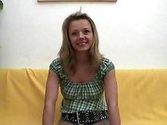 Njemački Tinejdžer Tina Casting