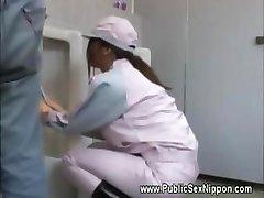 Japense renare älskar kuk på jobbet