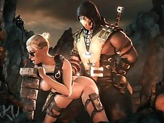 Mortal Kombat-XXX Cassie Buret SFM Samling