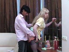 Blond Crossdresser