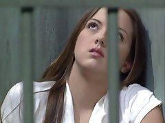 Morena Teen ossos guarda de prisão