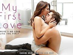 Ariana Grande & Logan Pierce no Meu Primeiro Amor de Vídeo