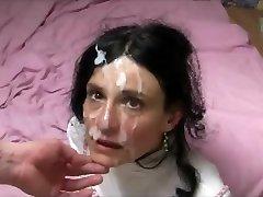 Nu brinner en ansiktsbehandling
