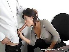 Secretary Takes A Break From Work