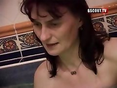 Some ugly chicks in this swinger's bang-out blowing and getting nailed