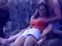 Candid beach camera filmed a splendid vixen