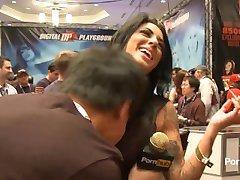 PornhubTV Alexa Aimes Intervju på 2014 AVN Awards