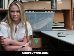 Shoplyfter - Catholic Schoolgirl Fucked For Stealing