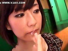 excitat japoneză tipa manami komukai în fabulos, facut cu mana, sperma aruncata jav scena