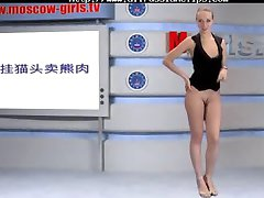 ロシアMoskow 女の子テレビアcumshots燕