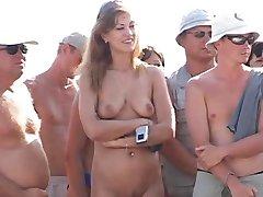 rus tabără de nudiști