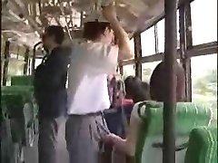 masturbarea în autobuz