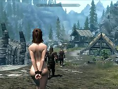 Nebezpečí unikl Skyrim slavegirl 19