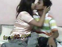 Chytrý indické dívka je velmi nadšený, že sex s němý chlapec - teen99