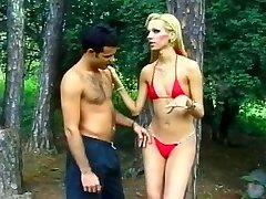 Tall Blonde Brazilian She-male