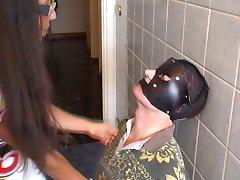 femdom bathroom slave