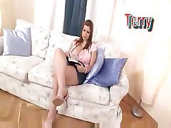 Busty White Teen Dreams Of Cock And Cum