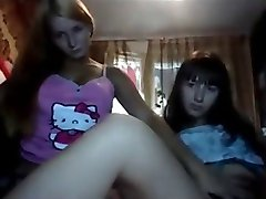 Two 19yo Russian chicks on cam
