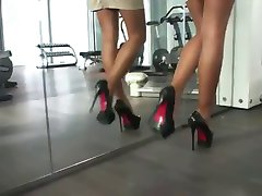 LGH - Tamia High Heels Walk in Nylons