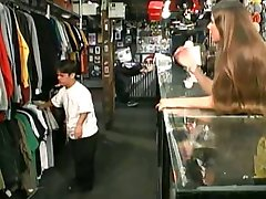 Dwarf Fucks Teen Ryan In Store