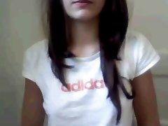 Webcam Teen Girl prsti v Kopalnico