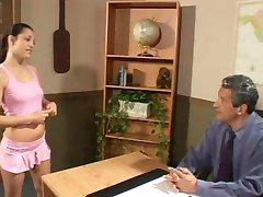 Schoolgirl Gets Anal From Principal