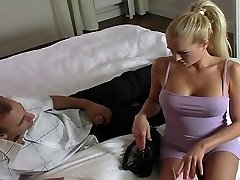 Stacy gets her hot starlet rump creampied