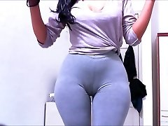 Cameltoe Leggings Cendres Claudiahotpants